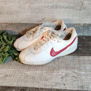 Vintage NIKE red cheer athletic sneakers